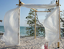 Sales Of Wholesale Bamboo Arches and Beach Wedding Supplies