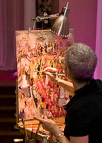 Joan Zylkin Wedding Painter Philadelphia NYC PA NJ DE