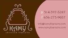 KAMY Chocolate Fountains