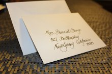 Calligraphy by Pete