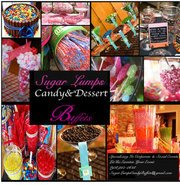 Sugar Lumps Candy and Gourmet Dessert Buffet Designs