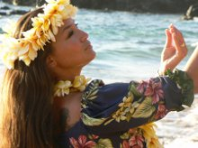 Aloha From Leilani Hawaiian Hula Dancer