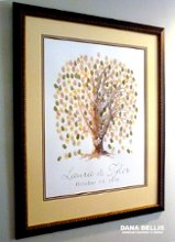 Guest Book Alternatives Thumb Print Tree and more