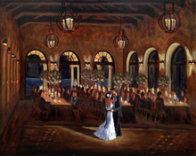 Wed on Canvas Live Wedding Artist Ben Keys