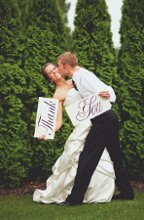 Limited Lane Wedding Signs