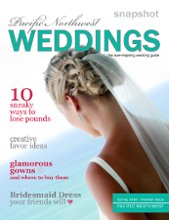 Snapshot Pacific Northwest Weddings Magazine