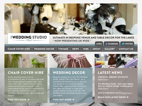 The Homestead Wedding Studio Windermere